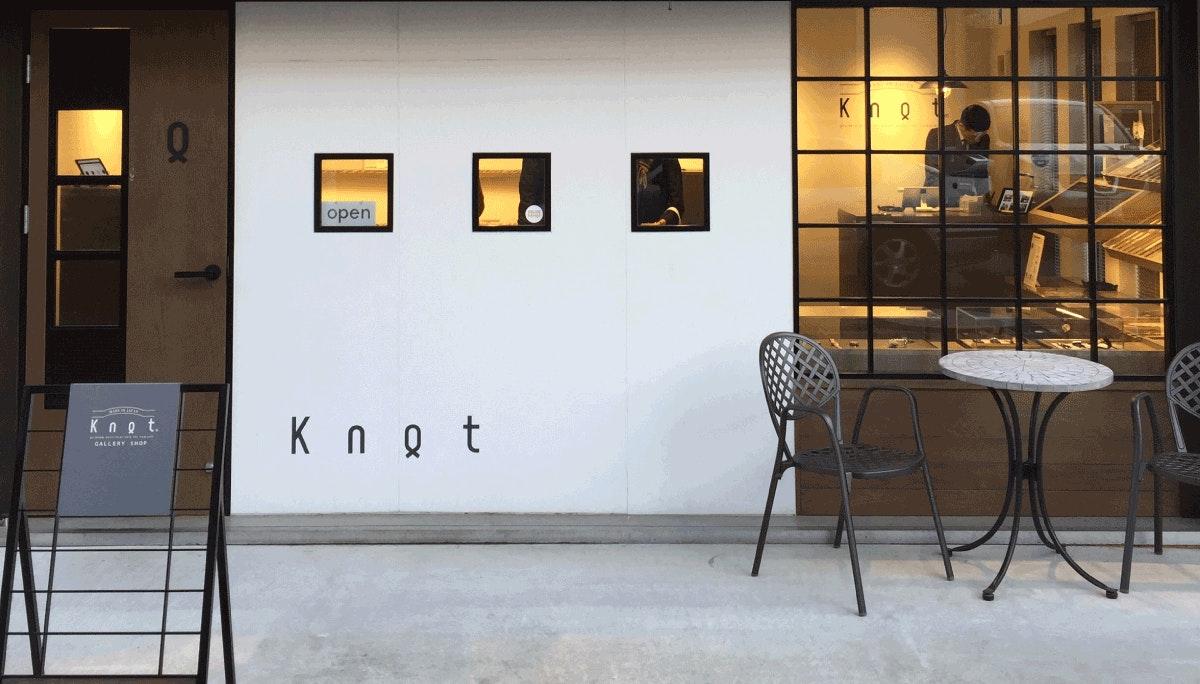 Knot - 5평 가게에서 파는 5000개의 시계