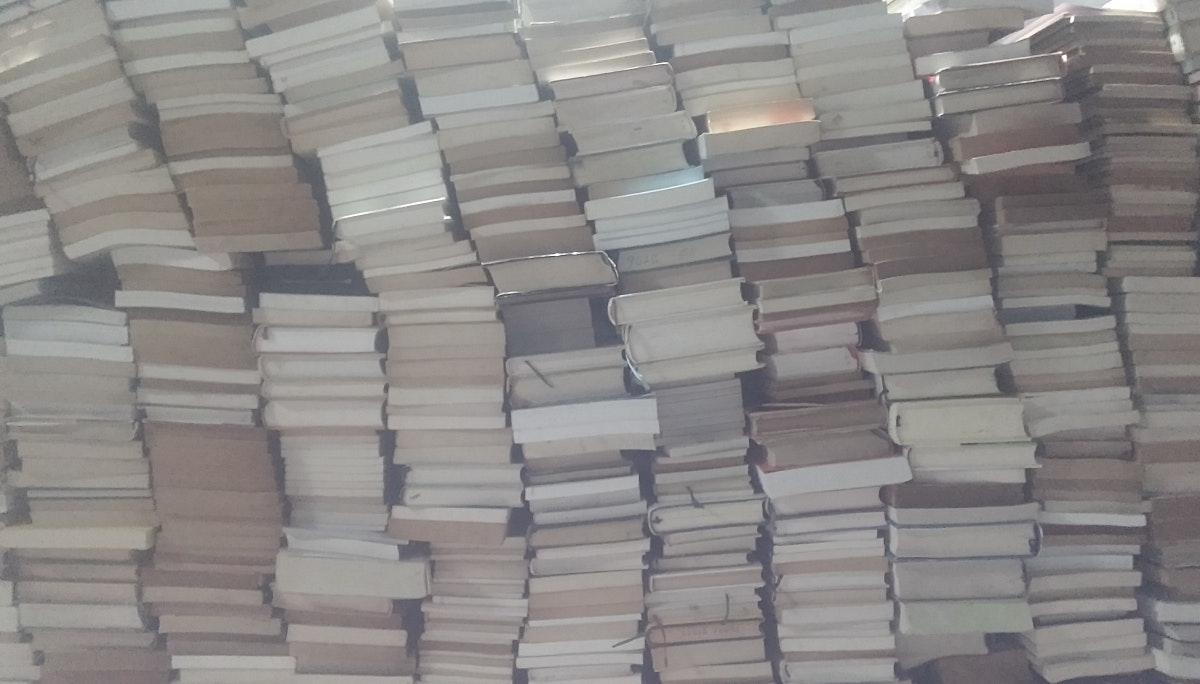 책 둘 곳이 사라지다