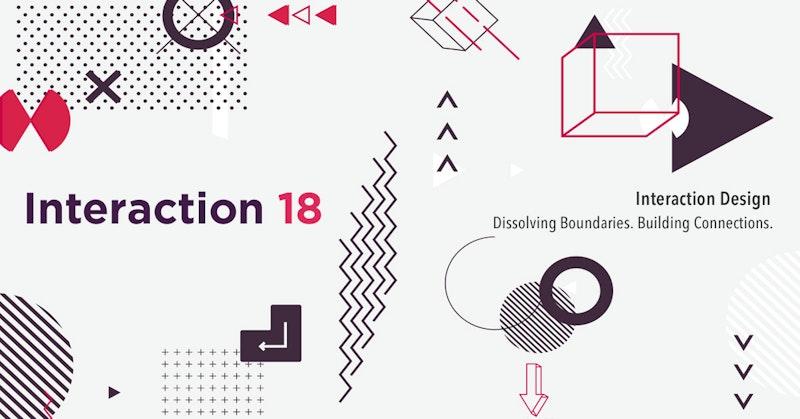 인터랙션 18, 디자인으로 연결하다