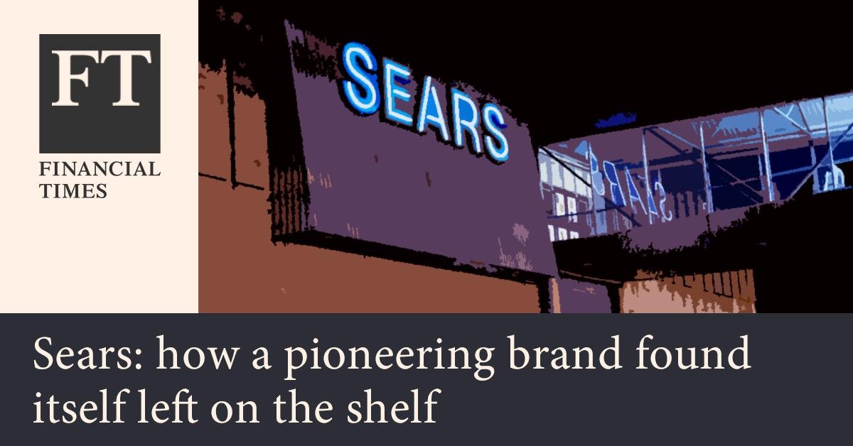 파이낸셜 타임스 - 시어스, 미국 거대 백화점의 파산