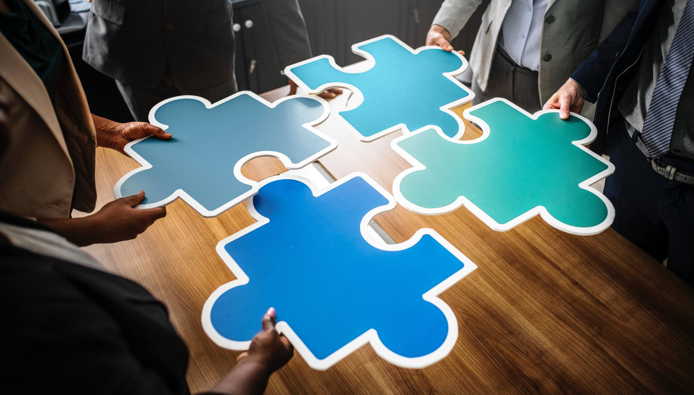 오피스 레이아웃은 퍼즐 맞추기