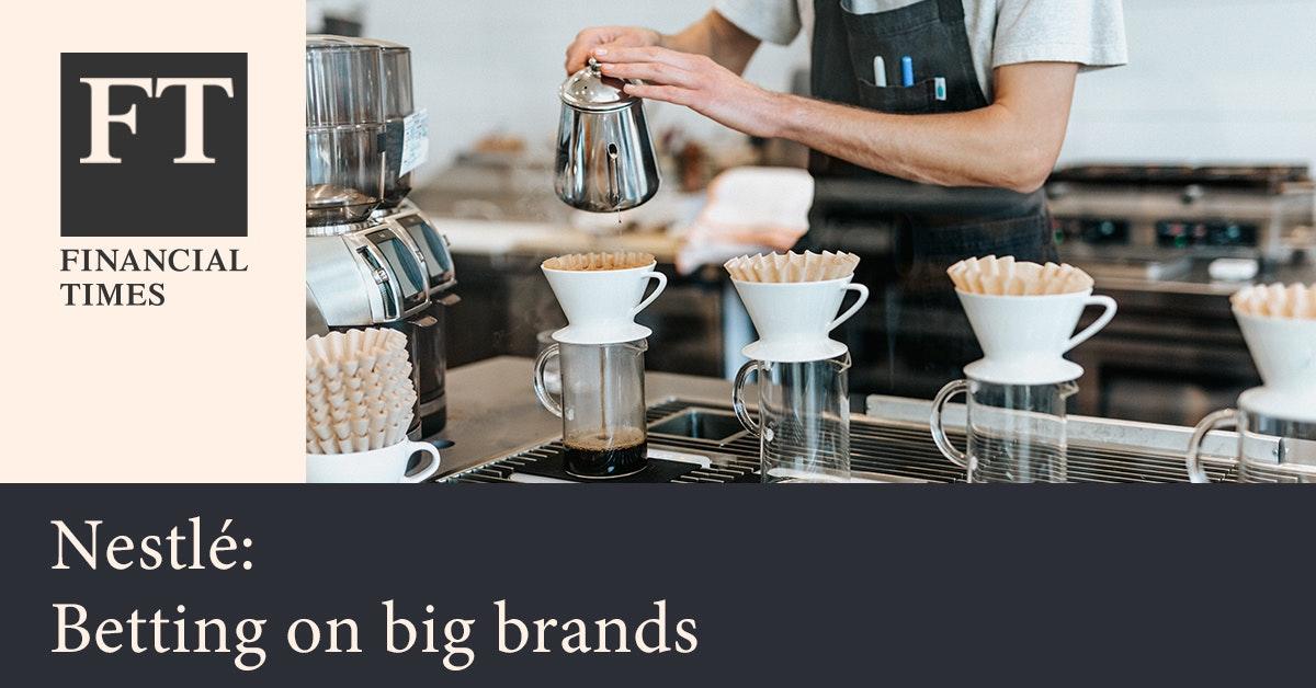 파이낸셜 타임스 - 네슬레, 글로벌 커피메이커의 성장동력 찾기