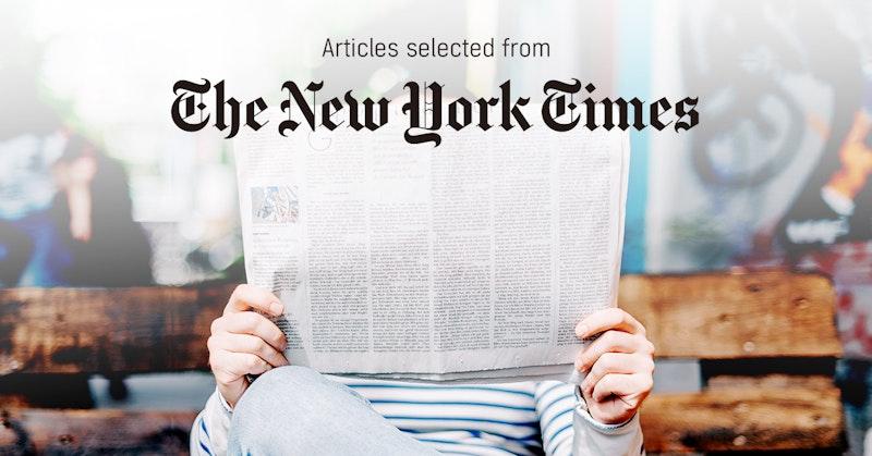 뉴욕타임스 - 퍼블리 큐레이터가 선정한 뉴스 [2018년 12월]