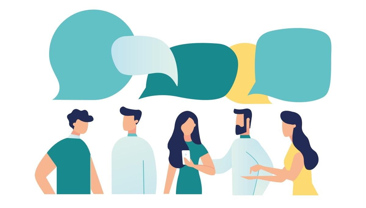 오피스 입구는  커뮤니케이션의 시작점이다