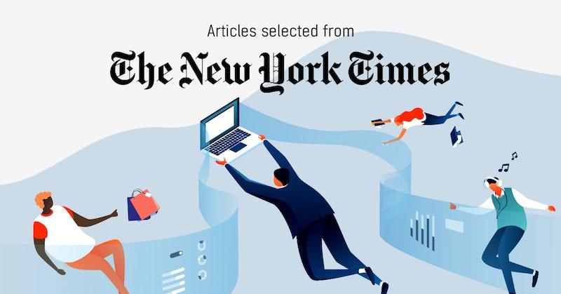뉴욕타임스 - 퍼블리 큐레이터가 선정한 뉴스 [2019년 1월 2주]