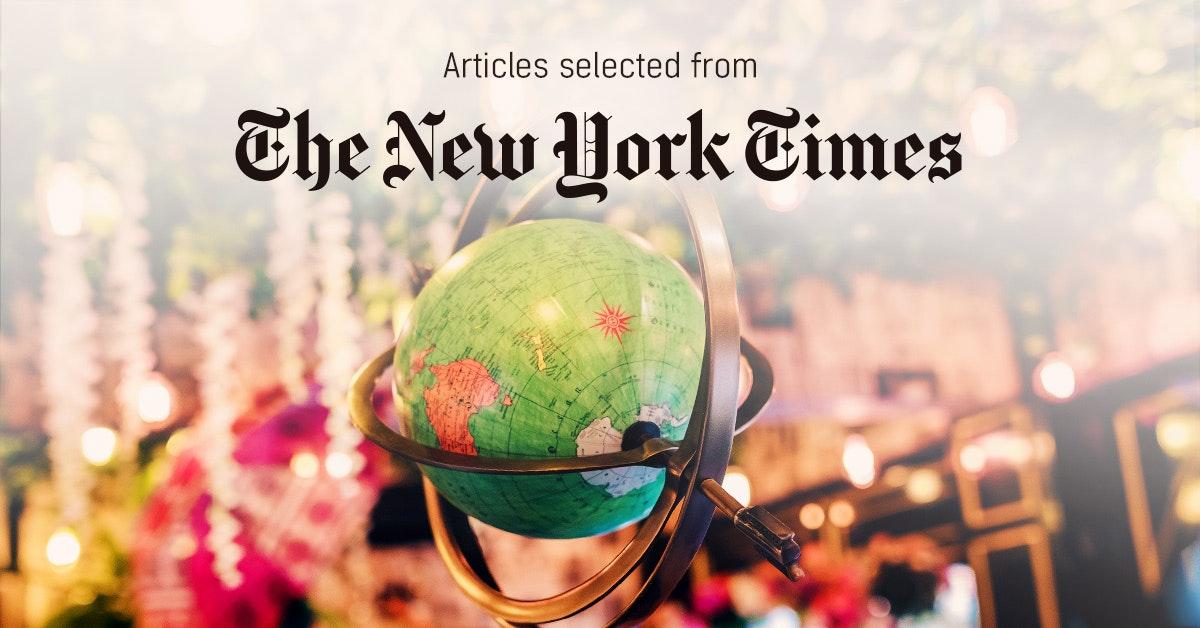 뉴욕타임스 - PUBLY 큐레이터가 선정한 뉴스 [2019년 2월 2주]