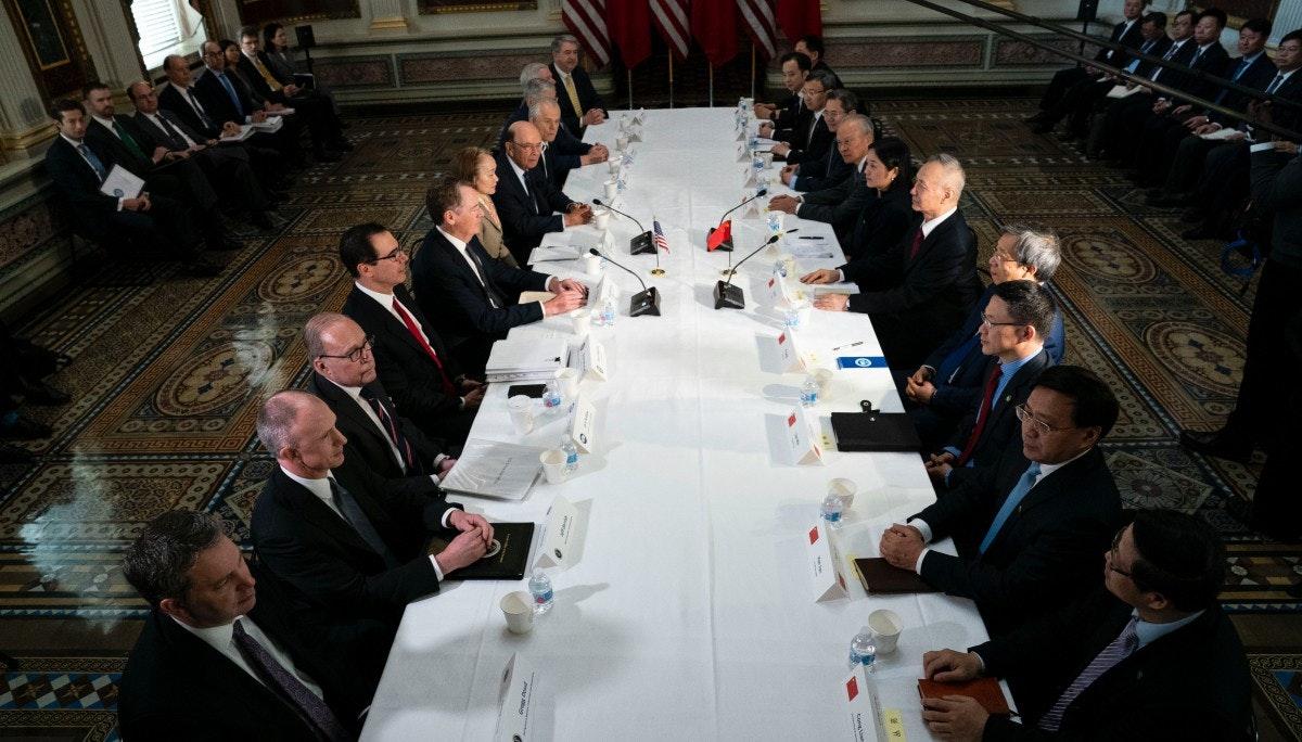 [국제] 미중 무역협상, 최종 합의는 아직