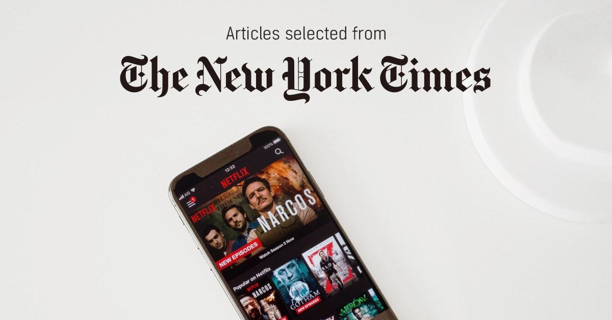 뉴욕타임스 - 퍼블리 큐레이터가 선정한 뉴스 [2019년 3월 2주]