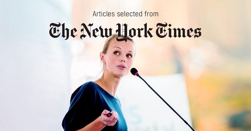 뉴욕타임스 - 퍼블리 큐레이터가 선정한 뉴스 [2019년 3월 3주]