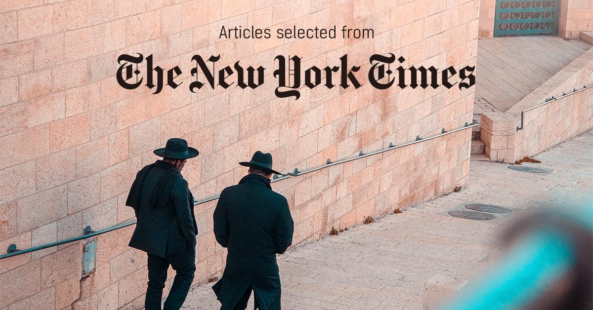 뉴욕타임스 - 퍼블리 큐레이터가 선정한 뉴스 [2019년 4월 1주]