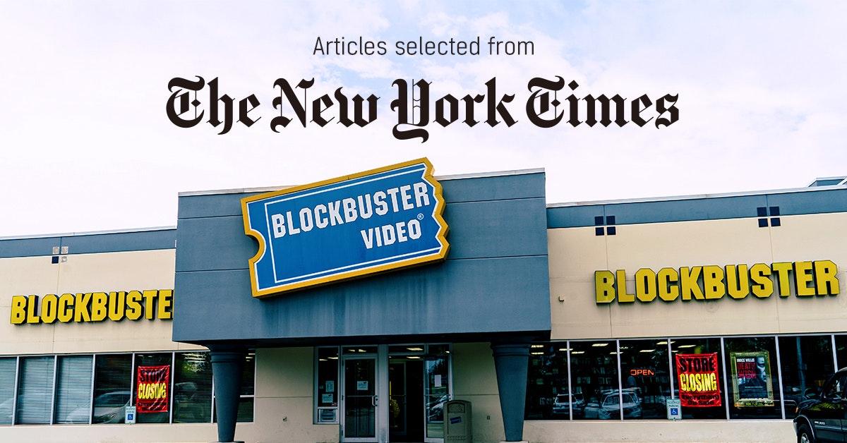 뉴욕타임스 - 퍼블리 큐레이터가 선정한 뉴스 [2019년 4월 3주]