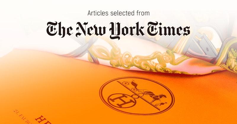 뉴욕타임스 - 퍼블리 큐레이터가 선정한 뉴스 [2019년 4월 4주]