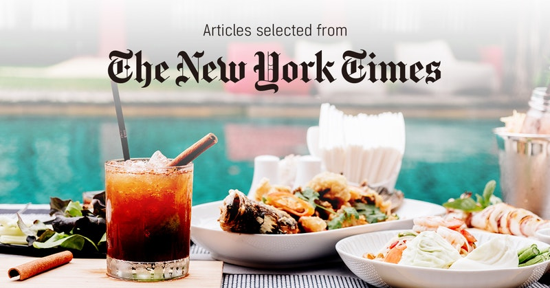뉴욕타임스 - 퍼블리 큐레이터가 선정한 뉴스 [2019년 5월 3주]