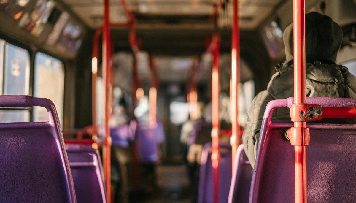 교토의 버스 안팎에서 발견한 디테일