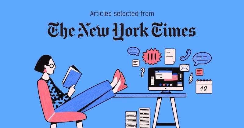[뉴욕타임스 큐레이션 6월 3주] #일과삶의 #경계긋기 #(또) #인스타그램 #크리에이터