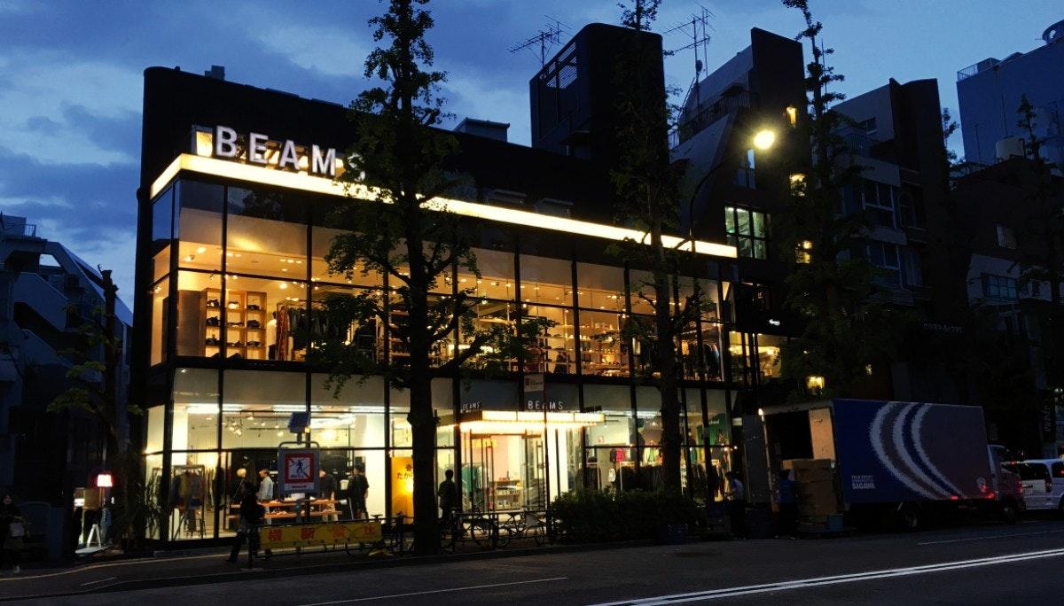 [BEAMS] 도쿄를 대표하는 세련된 센스를 지니다