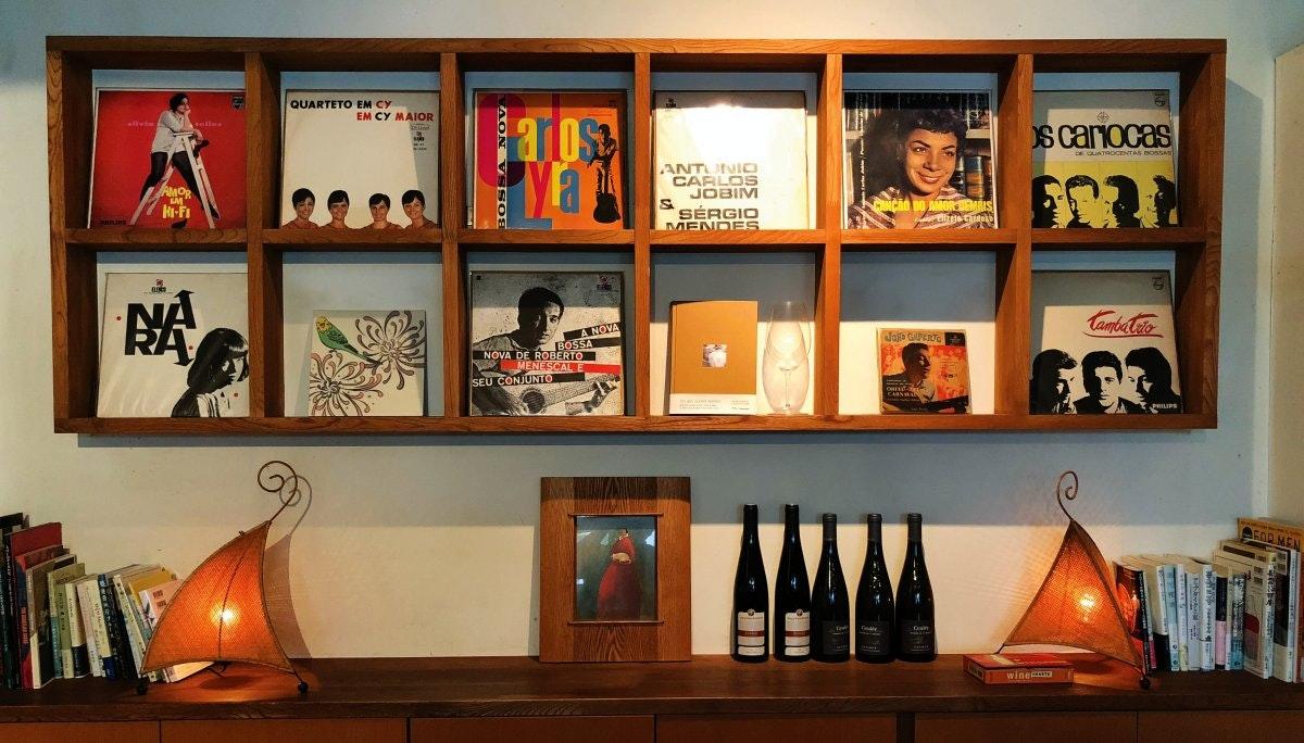 [bar bossa] 레코드와 바가 있는 시부야에서